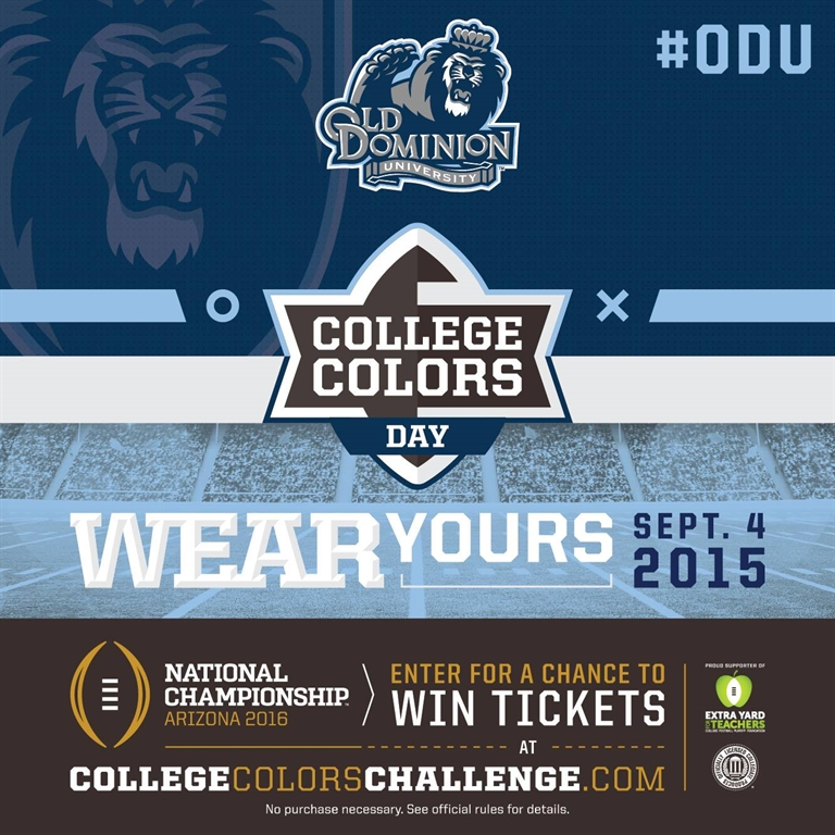 ODU Alumni - College Colors Challenge 2015