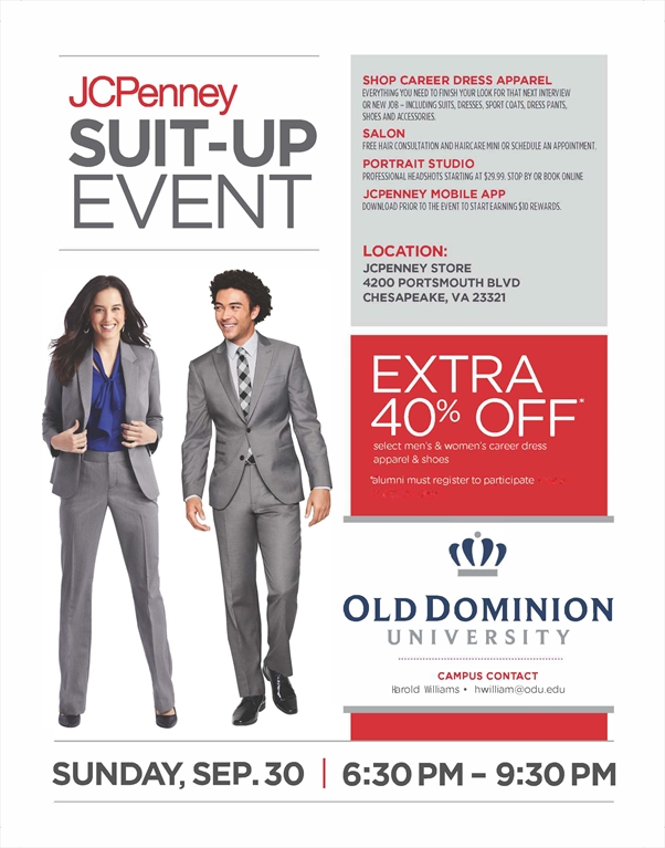 Odu Alumni Jcpenny Suit Up Event
